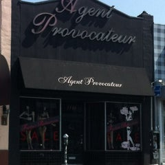 Photo taken at Agent Provocateur by Carol 'Red E. on 7/23/2012