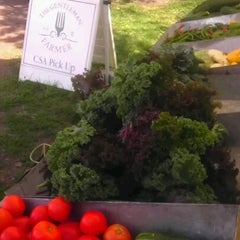 Photo taken at Logan Square Farmer's Market by Andy R. on 8/19/2012
