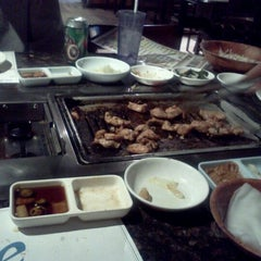 Photo taken at Imperial Korean BBQ Restaurant by SteveOrocious L. on 9/17/2011