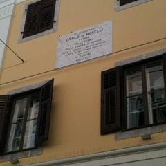 Photo taken at Via Morelli by Grazia C. on 3/27/2012