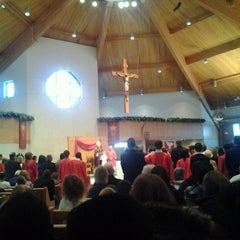 Photo taken at St. John the Evangelist by Ryan M. on 1/21/2012