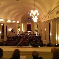 Photo taken at Central United Methodist Church by Daniel B. on 12/25/2011