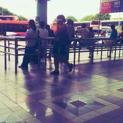 Photo taken at Hougang Central Bus Interchange by lim w. on 11/15/2011