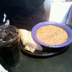 Photo taken at Café Yumm! by Heather T. on 2/3/2012