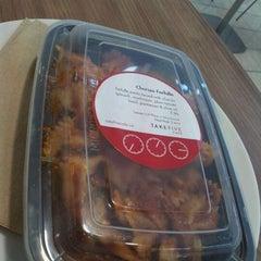 Photo taken at Take Five Cafe Richmond Centre by Jess @mini604 on 9/14/2011