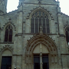 Photo taken at Place Saint-Pierre by Anouk C. on 5/7/2012