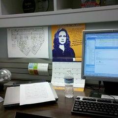 Photo taken at Kelly's Office @ KeyBank Higbee by Kelly M. on 10/10/2011