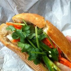Photo taken at Saigon Sandwich by Michael M. on 11/3/2011