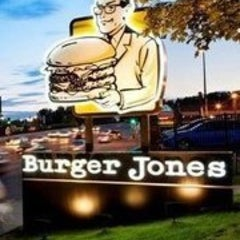 Photo taken at Burger Jones by Demian B. on 10/25/2011