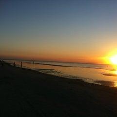 Photo taken at Majoru pludmale | Majori beach by Vladimir B. on 8/2/2012