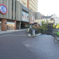 Photo taken at C.C Place des Halles by Mickael W. on 9/7/2012