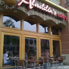 Photo taken at Aladdins Eatery by Patrick M. on 9/4/2011
