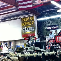 Photo taken at Major Surplus and Survival Discount Warehouse by TONY A. on 8/18/2012