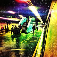 Photo taken at Metro - Los Dos Caminos by Jairo B. on 3/22/2012