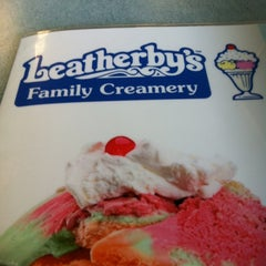"""Photo taken at Leatherby's Family Creamery by Charles """"da badge Man"""" Watson . on 4/25/2012"""