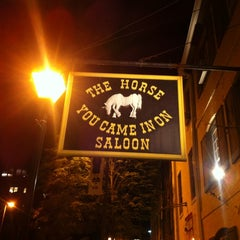 Photo taken at The Horse You Came In On Saloon by Robert D. on 6/27/2012
