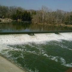 Photo taken at White Rock Lake Spillway by David C. on 2/19/2012