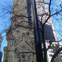 Photo taken at Chicago Water Tower by Joanne G. on 3/18/2012