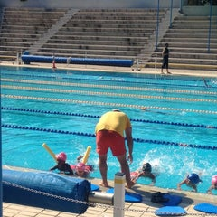 Photo taken at Nicosia Munincipal Swimming Pool by Christina T. on 5/31/2012