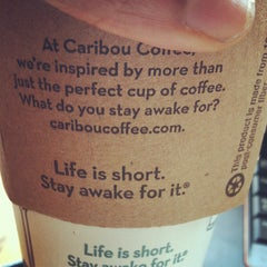 Photo taken at Caribou Coffee by Lawron D. on 4/15/2012