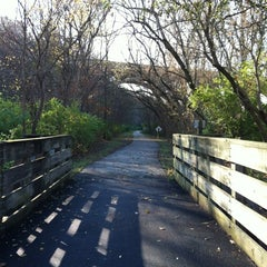 Photo taken at Little Miami Scenic Trail by Teresa J. on 11/4/2011