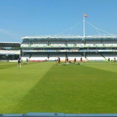 Photo taken at Lord's Cricket Ground (MCC) by Rob F. on 5/30/2012