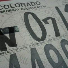 Photo taken at El Paso County Clerk & Recorder (Union Town Center) by Clare A. on 1/13/2012