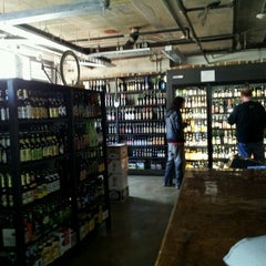 Photo taken at City Beer Store by Geoffrey E. on 2/17/2012