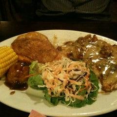 Photo taken at Kafe Sakae.西餐廳 by Liz T. on 6/6/2012