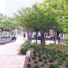Photo taken at Market Square Park by Glenn S. on 4/10/2011