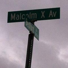 Photo taken at Malcolm X  Birthsite by KeeferP on 3/21/2012