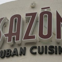 Photo taken at Sazon Cuban Cuisine by @antjphotog on 8/19/2011