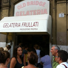 Photo taken at Gelateria Old Bridge by Gaspare on 8/26/2012