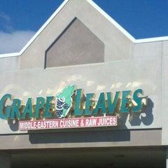 Photo taken at Grape Leaves Restaurant by Larisa X. on 10/1/2011
