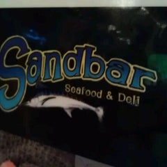 Photo taken at Sandbar Seafood, Deli, And Oyster Bar by Lou W. on 5/21/2012
