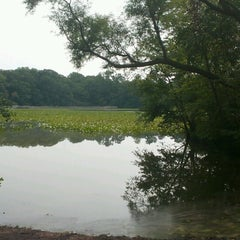 Photo taken at Historic Smithville Park by Ryan H. on 8/15/2012