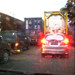 Photo taken at Jl Raya Pelabuhan by Sarah Clara Sitanggang on 1/25/2012