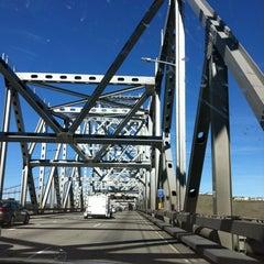 Photo taken at Carquinez Bridge by Kristina C. on 2/23/2012