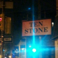 Photo taken at Ten Stone by Julian R. on 1/21/2012