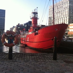 Photo taken at Albert Dock by Ashley G. on 9/28/2011