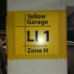 Photo taken at Galleria Yellow Garage by Meagan B. on 12/16/2011