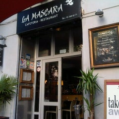 Photo taken at La Máscara by Diana P. on 5/10/2012