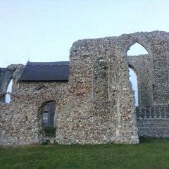 Photo taken at Leiston Abbey by Chris G. on 10/31/2011