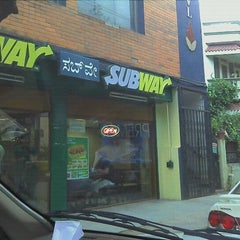 Photo taken at Subway by Somendra R. on 9/4/2011