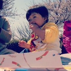 Photo taken at 眉山公園 by taniatelier on 4/8/2012
