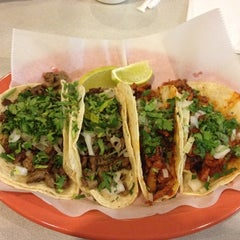 Photo taken at Taqueria El Nopalito by NICK S. on 1/18/2012