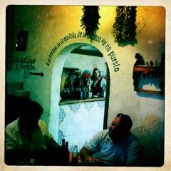 Photo taken at Las Cuevas del Vino by Jose Manuel H. on 6/23/2012