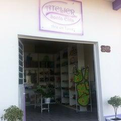 Photo taken at Atelier Santa Elita by Darlene D. on 3/24/2012
