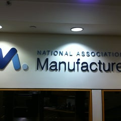 Photo taken at National Association of Manufacturers by Kirsten W. on 10/13/2011