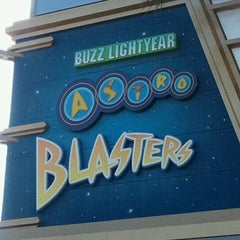 Photo taken at Buzz Lightyear Astro Blasters by Ryan T. on 6/20/2012